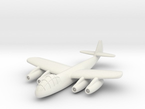 (1:144) Junkers EF.008  in White Natural Versatile Plastic