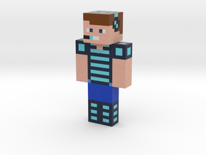 Nick_Hypixel   Minecraft toy in Natural Full Color Sandstone