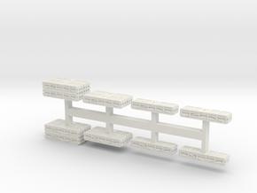 1 to 200 MLRS pod set in White Natural Versatile Plastic