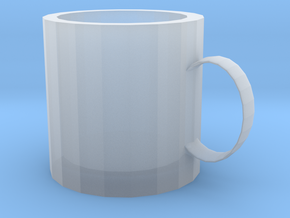 mug in Smooth Fine Detail Plastic: Extra Small
