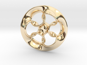 """""""Seven Rings""""  in 14k Gold Plated Brass"""