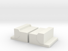 Peterbilt Steps in White Natural Versatile Plastic