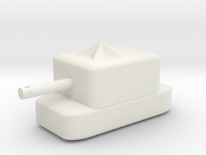 dragon tank in White Natural Versatile Plastic: Medium