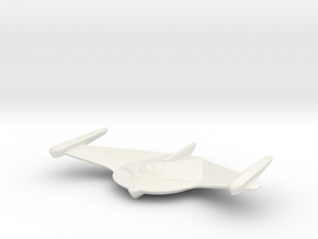 Romulan Bird-of-Prey (TMP) 1/2500 in White Natural Versatile Plastic