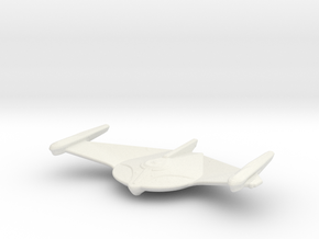 Romulan Bird-of-Prey (TMP) 1/4800 Attack Wing in White Natural Versatile Plastic