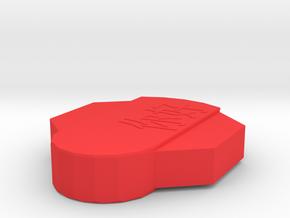 usb-boat in Red Processed Versatile Plastic