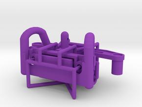 Tamiya Terra Scorcher body mounting kit in Purple Processed Versatile Plastic