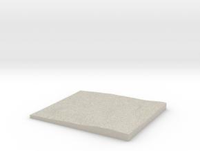 Model of Trockenbach in Natural Sandstone