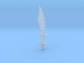 Primitive Sword #1 in Smooth Fine Detail Plastic