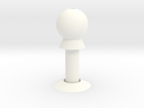 Column shade in White Processed Versatile Plastic