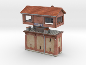 C-Npe01 - Signal box in Matte Full Color Sandstone
