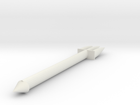 fork in White Natural Versatile Plastic