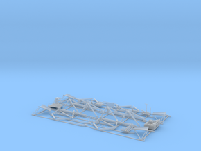 Lunar Module Descent Stage - Fine Detail Plastic P in Smooth Fine Detail Plastic