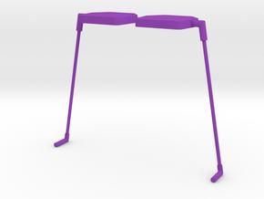 grass in Purple Processed Versatile Plastic: Large
