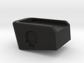 Deranged WE/TM glock extended baseplate in Black Natural Versatile Plastic