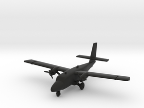 de Havilland Canada DHC-6 Twin Otter in Black Natural Versatile Plastic