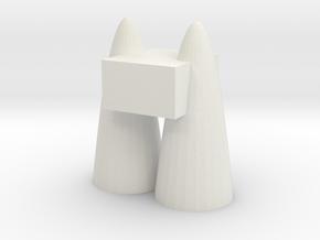 107102327(4) in White Premium Versatile Plastic: Small
