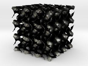 Gyroid XL 300mm in Matte Black Steel