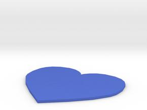 Spectacular Fulffy-Borwo in Blue Processed Versatile Plastic: Small