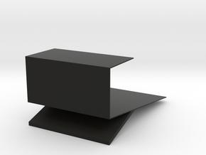 Host type look bookshelf in Black Natural Versatile Plastic: Medium