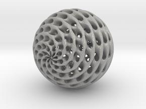 Diamond Sphere in Aluminum