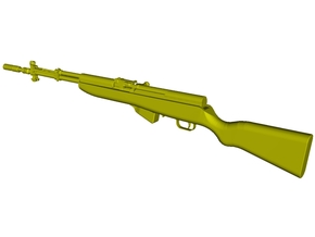 1/15 scale SKS Yugo M59/66 rifle x 1 in Smooth Fine Detail Plastic