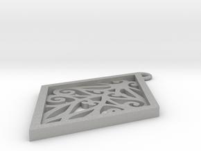 Tiana pendant in Aluminum: Small
