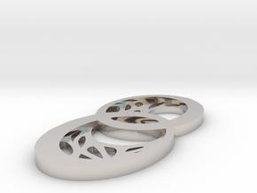 Dryad pendant in Platinum: Small
