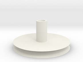 Magnetized Flight Stand 60mm base in White Natural Versatile Plastic