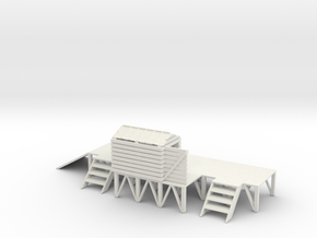 LOADING PLATFORM in White Natural Versatile Plastic