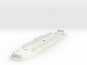 Wellington tram Roof in White Natural Versatile Plastic