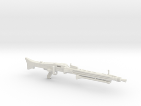 MG42 folded bipod 1/7th scale in White Natural Versatile Plastic