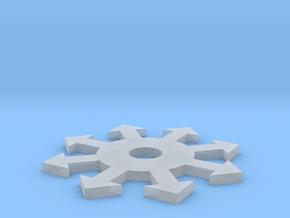 Coaster in Smooth Fine Detail Plastic: Medium