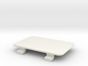 Toyota 4Runner - 12V & USB Retrofit, No Holes in White Natural Versatile Plastic
