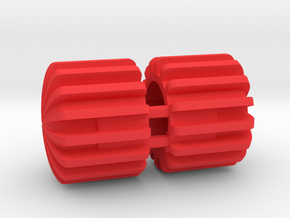 BNC Protective Caps (Part BNCCP) in Red Processed Versatile Plastic
