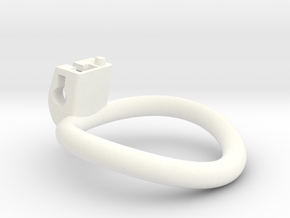 The Cherry Keeper Circular Ring - 48mm in White Processed Versatile Plastic