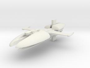 5000 CIS Munificent class Star Wars in White Natural Versatile Plastic