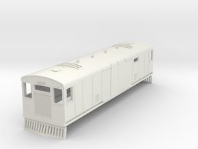 0-87-bermuda-railway-motor-van-100 in White Natural Versatile Plastic