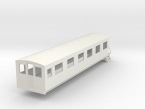 o-87-bermuda-railway-pullman-coach in White Natural Versatile Plastic