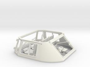 Leopard1_DT_turret_1_16_pt3of4 in White Natural Versatile Plastic