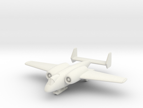 "(1:200) Junkers ""Unnamed"" Ground Attack Aircraft in White Natural Versatile Plastic"