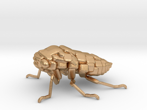 Cicada! The Somewhat Square-ish Sculpture in Natural Bronze