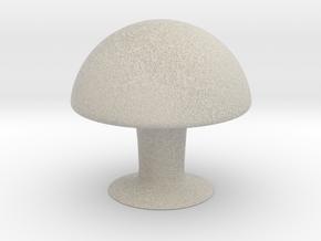 Mushroom in Natural Sandstone