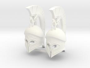 HOPLITE HELMET 14.2 X2 in White Processed Versatile Plastic
