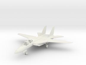 Grumman F-14 Tomcat in White Natural Versatile Plastic