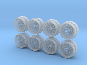 F InfernoT 11mm Hot Wheels Rims in Smooth Fine Detail Plastic