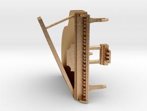 Mini Grand Piano in Natural Bronze