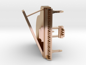 Mini Grand Piano in 14k Rose Gold