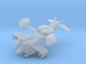 Alien UD-4L Cheyenne in flight in Smooth Fine Detail Plastic