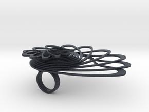Espiralite in Black PA12